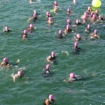 Women gather at the start